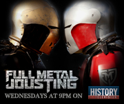 Full Metal Jousting airing in Canada on History Television!